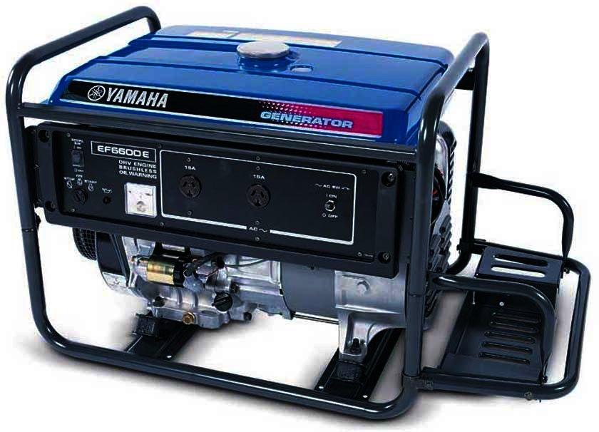 Генератор Yamaha  EF6600E в Гдове
